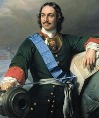 Pedro I el grande, el zar que miró a Europa.